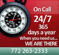 Call 24/7 - When you need Emergency Electrical Services, we are there for you.