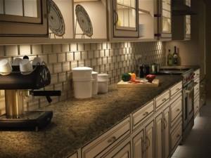 kitchen & bath wiring for recessed lighting.