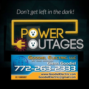 Don't get left in the dark due to power outages.